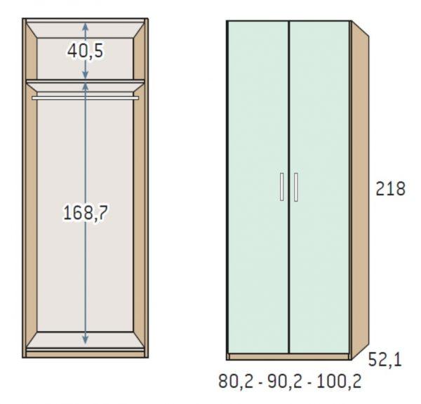 BSC armario 2 puertas 3