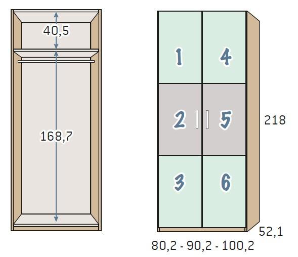 BSC armario 2 puertas 4