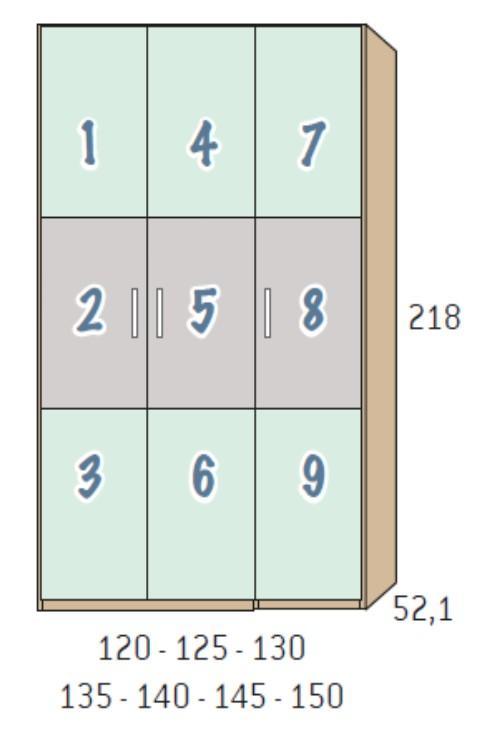 BSC armario 3 puertas 4