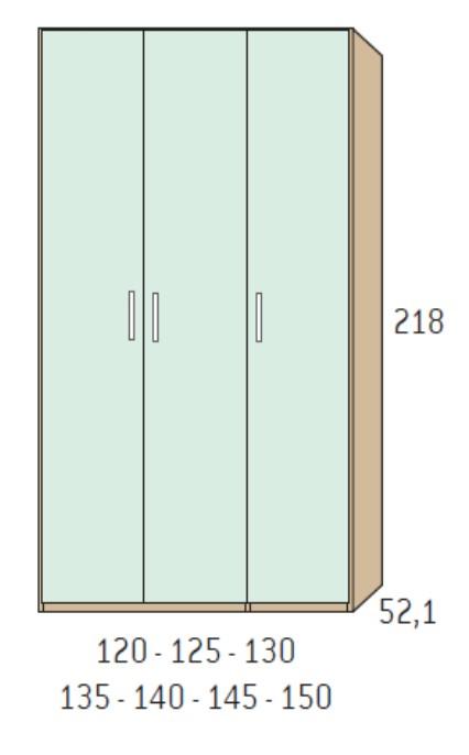 BSC armario 3 puertas 5