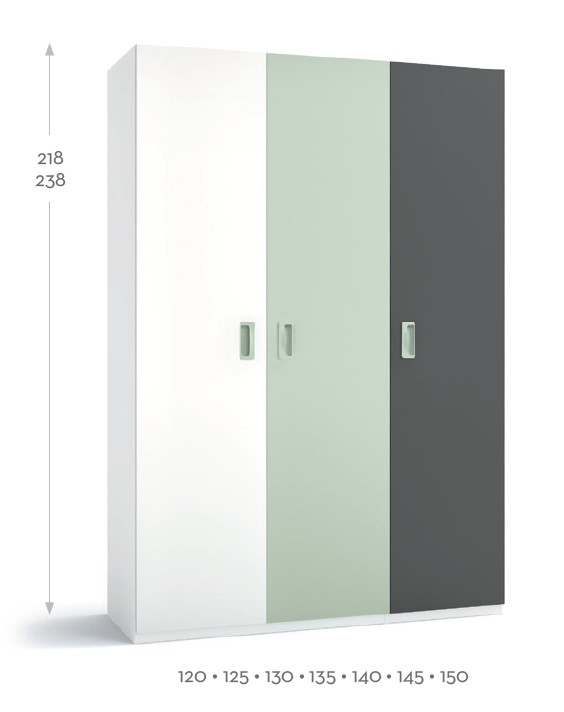 BSC armario 3 puertas