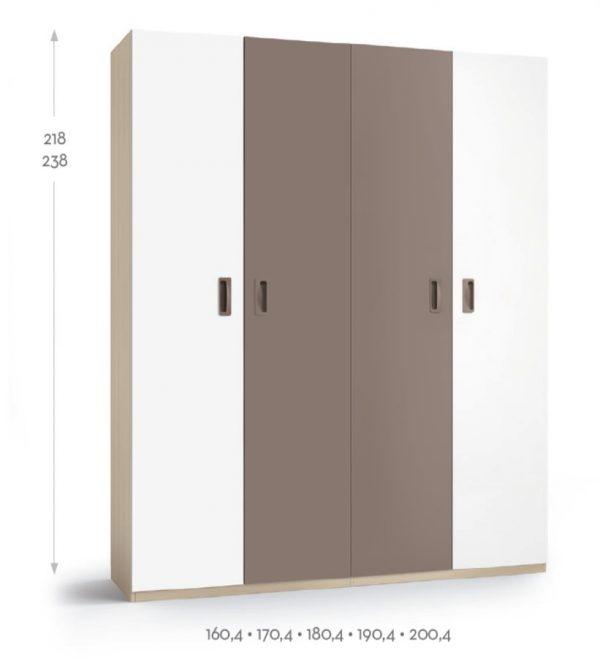 BSC armario 4 puertas