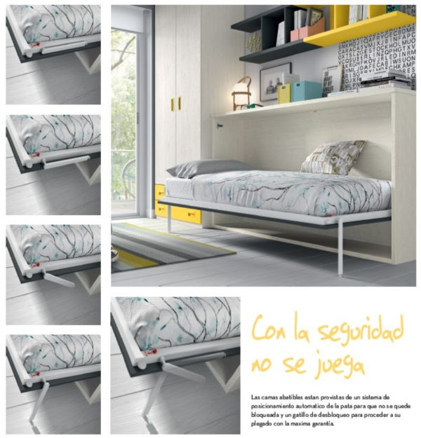 CAMA ABATIBLE HORIZONTAL BSC42