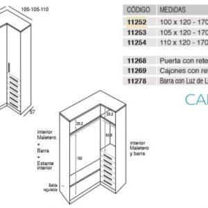 CAMA ABATIBLE HORIZONTAL ONI45