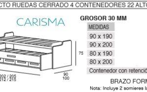 CAMA COMPACTA ONI17