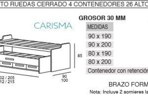 CAMA COMPACTA ONI20