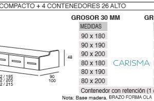 CAMA NIDO COMPACTO ONI27