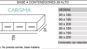 CAMA BASE ONI10