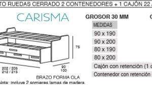 CAMA COMPACTA ONI6