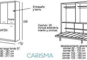 CAMA MOTORIZADA ABATIBLE HORIZONTAL ONI44