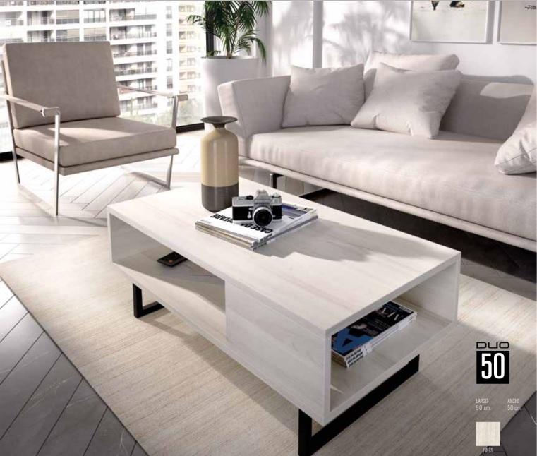 Mesa funcional y decorativa