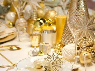 Mesas decoración para Nochevieja