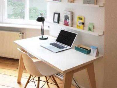 Oficina de casa con ventana